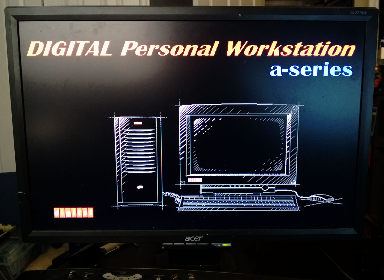 Digital Personal Workstation 433a - BIOS Image