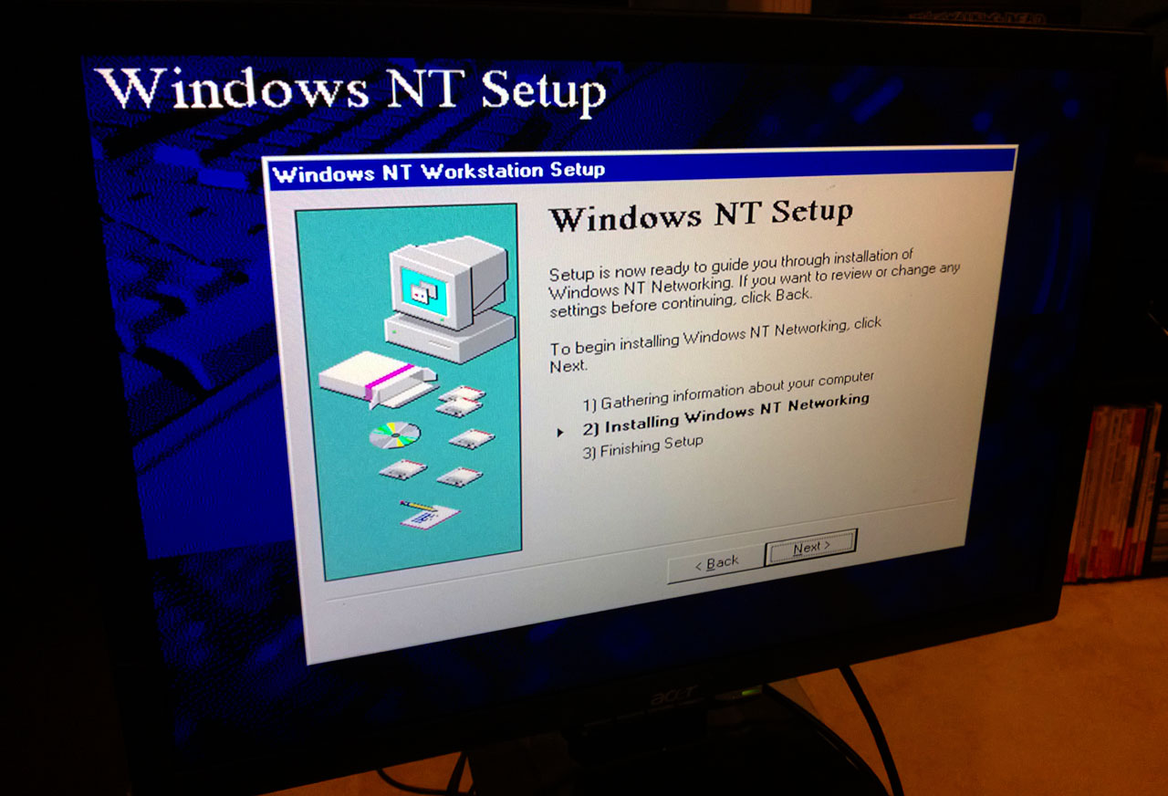 Digital Personal Workstation 433a - Windows NT 4 Setup 3