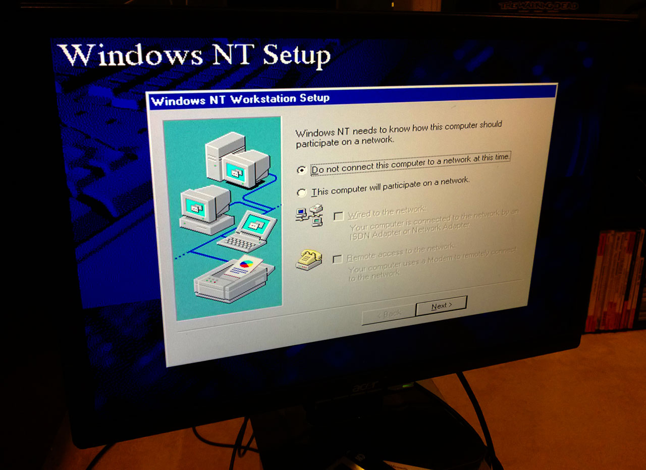 Digital Personal Workstation 433a - Windows NT 4 Setup 4