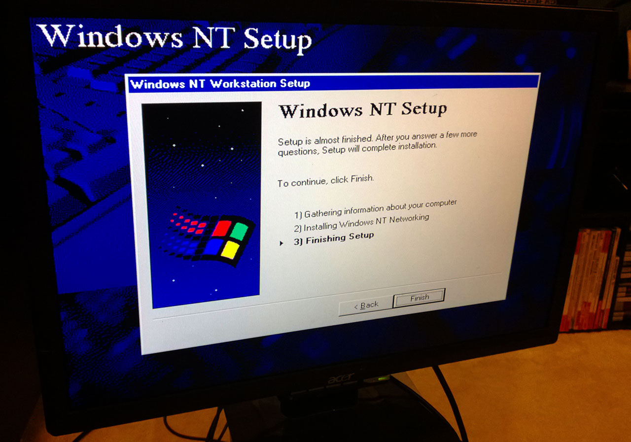 Digital Personal Workstation 433a - Windows NT 4 Setup 5