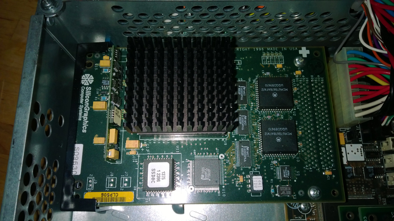 Silicon Graphics Indy R5000SC 180mhz CPU board
