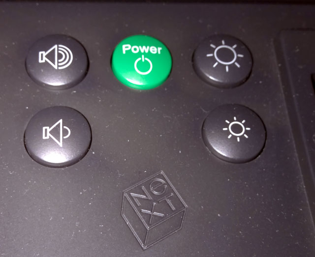 NeXTstation Turbo - Power Button