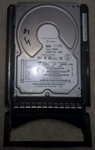 Silicon Graphics Onyx2 - Original Harddrive