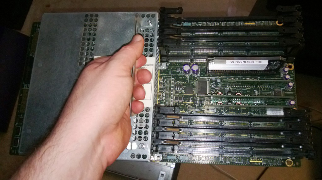 Silicon Graphics Tezro Nodeboard (IP53) Removed