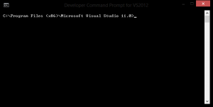 Step 2: Visual Studio 2012 Developer Prompt